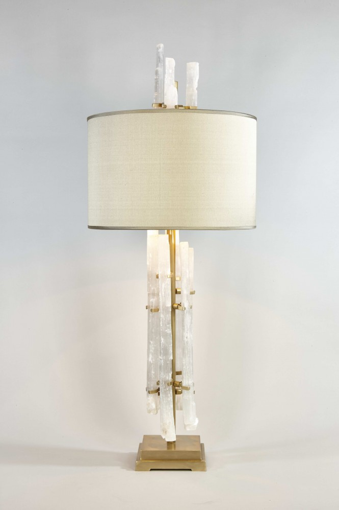 Rock crystal table lamp cocovara rock crystal table lamp mozeypictures Gallery